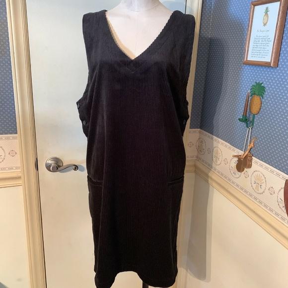 Kim Rogers Dresses & Skirts - Kim Rogers Sports Wide Wale Corduroy Jumper Size L
